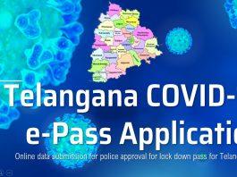 Telangana COVID 19 Lockdown ePass 2021